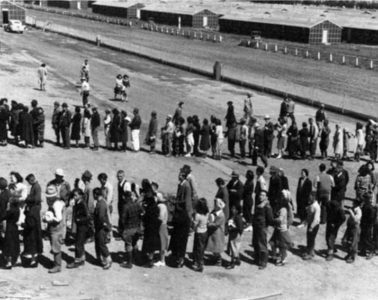 Japanese American internment centre