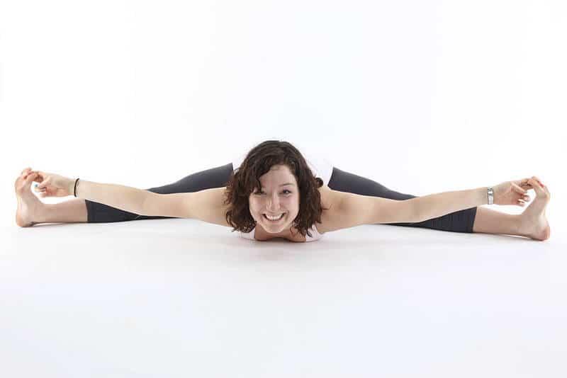 Woman in yoga split - Your pelvis
