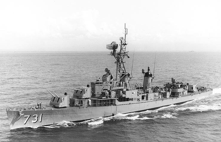 USS Maddox 1962
