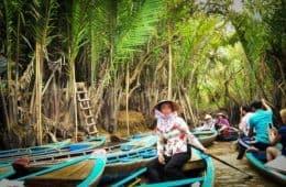Vietnam river boater