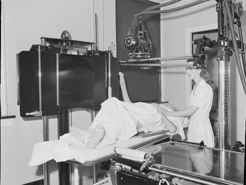 X-Ray room 1953