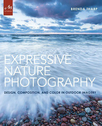 Front cover of book - Expressive nature photography