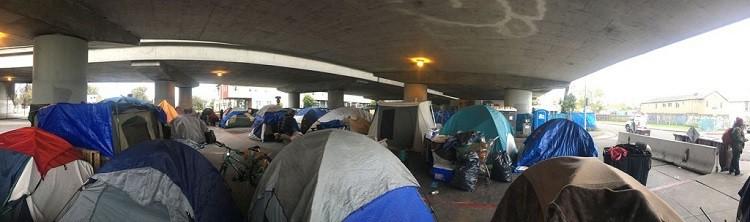 "Tent communities in Berkeley, California - The ""undocumented"" are my heroes"