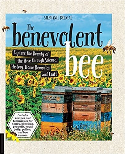 Front cover of book - The benevolent bee