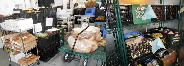White Pony Express bread and food ready to go - The