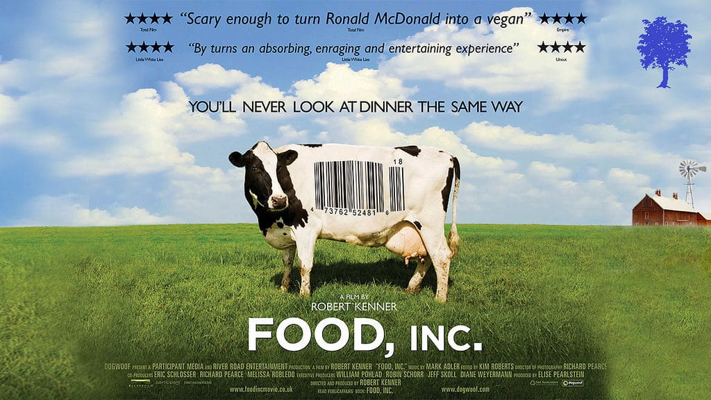 Food Inc movie poster