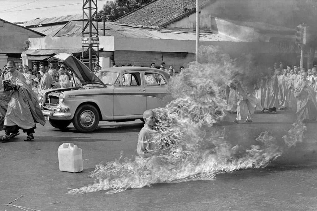 Thich Quang Duc self-immolation