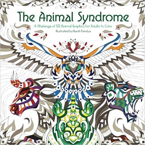 below are six free coloring pages to print from one of our latest coloring books the animal syndrome featuring 50 intricately illustrated animals of land - Cool Coloring Pages