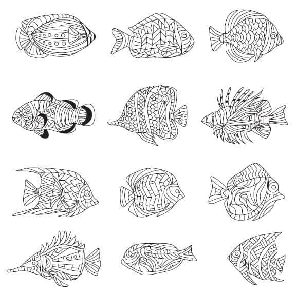 cool coloring pages 6 free printable images from the animal syndrome coloring book - Cool Coloring Pages