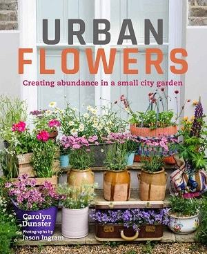 Urban Flowers front cover - Edible floral treats
