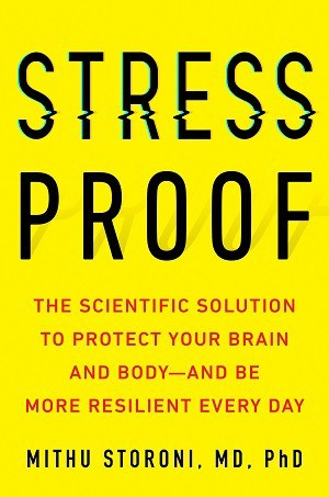 Front cover of Stress Proof book - EMDR