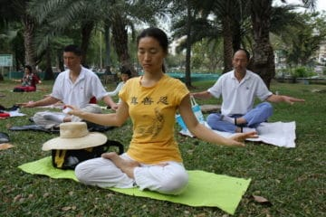 Falun Dafa the fifth meditation