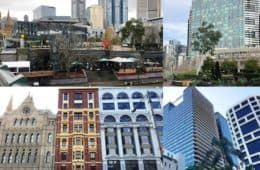 Photo collage of city buildings in Australia - Citiness