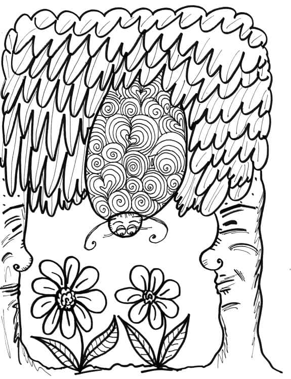PICTURES FOR COLORING IN: 6 free images for kids and