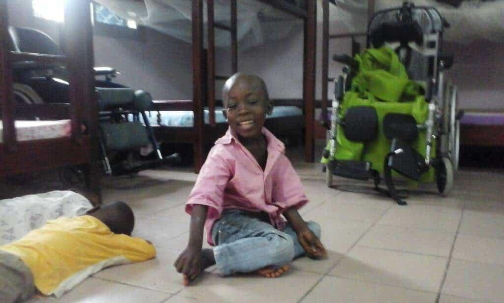 little boy on floor