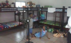children in their bedroom