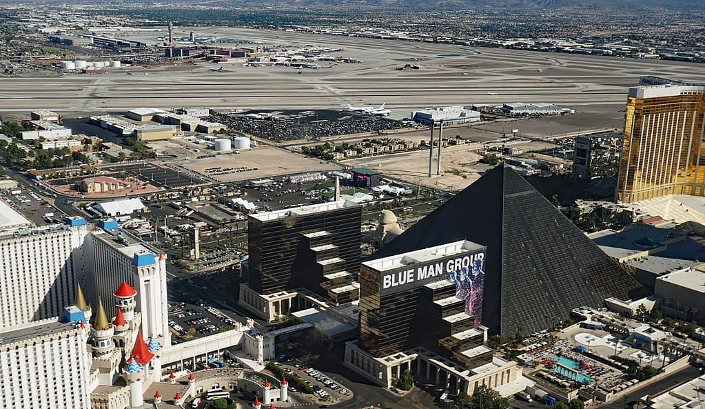 Site of 2017 shooting in Las Vegas - Mass shootings and mass hatred