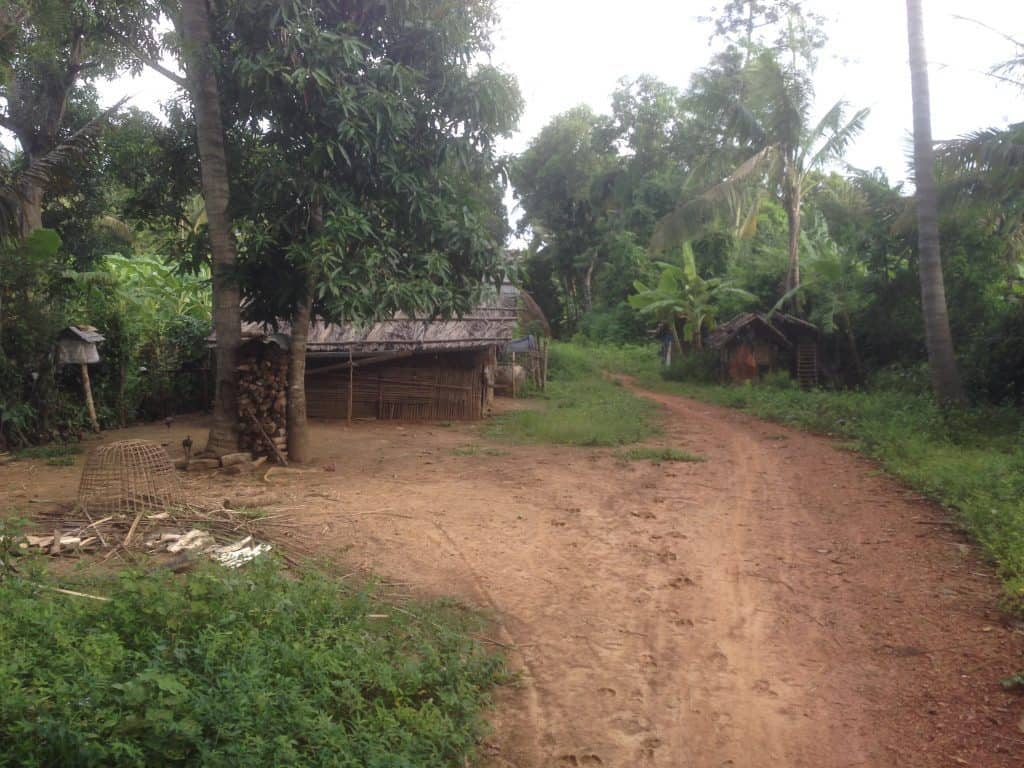 Tapon village, near Battambang, Cambodia