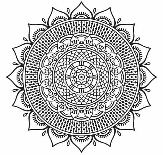 free coloring pages for adults 8 stress relieving mandalas to color from our sacred circles. Black Bedroom Furniture Sets. Home Design Ideas