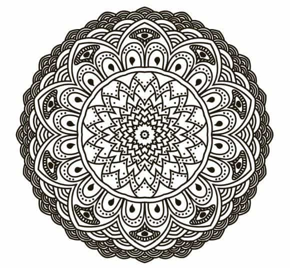 free coloring pages for adults 8 stress relieving mandalas to color