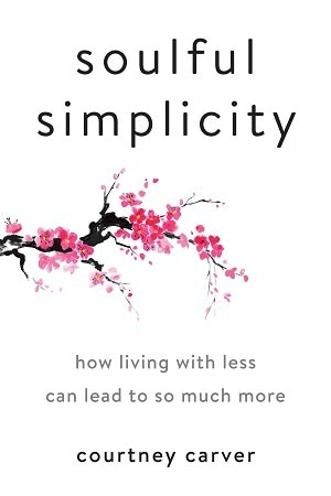 Front cover of Soulful Simplicity book - Lessons from the mat