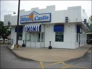 Outside of White Castle restaurant - Kicking an addiction