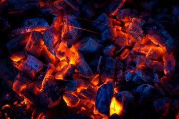 Live coals from a fire - Spirit Land