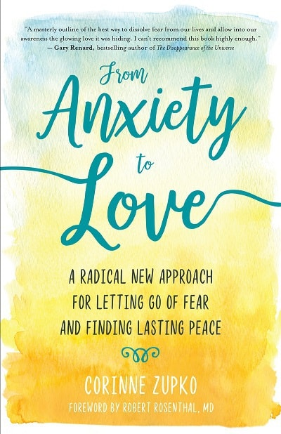 Front cover of From Anxiety to Love book - From anxiety to love