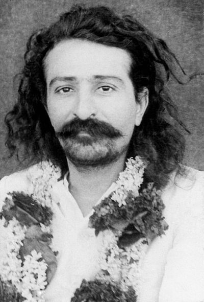 Face of young Meher Baba - On turning 70