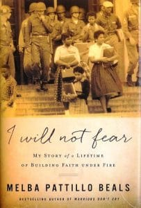 Front cover of I Will Not Fear by Melba Pattillo Beals - I will not fear