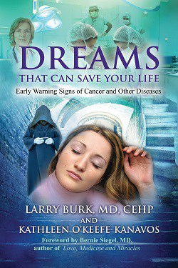 Front cover of book - Dreams that can safe your life