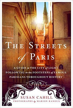 Front cover of Streets of Paris book - Streets of Paris