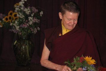 Ordained Buddhist nun Pema Chodron - Awakening loving-kindness