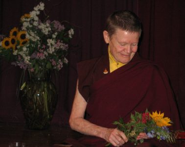 Ordained Buddhist nun Pema Chodron - Awakening loving-kindness