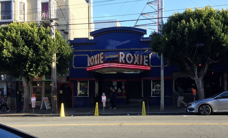 Front of Roxie Theatre in San Francisco - Voice of the eagle