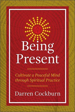 Front cover of book - Being present