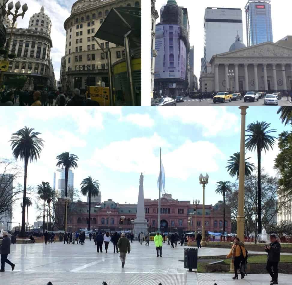 Buildings in downtown Buenos Aires - An American in Argentina