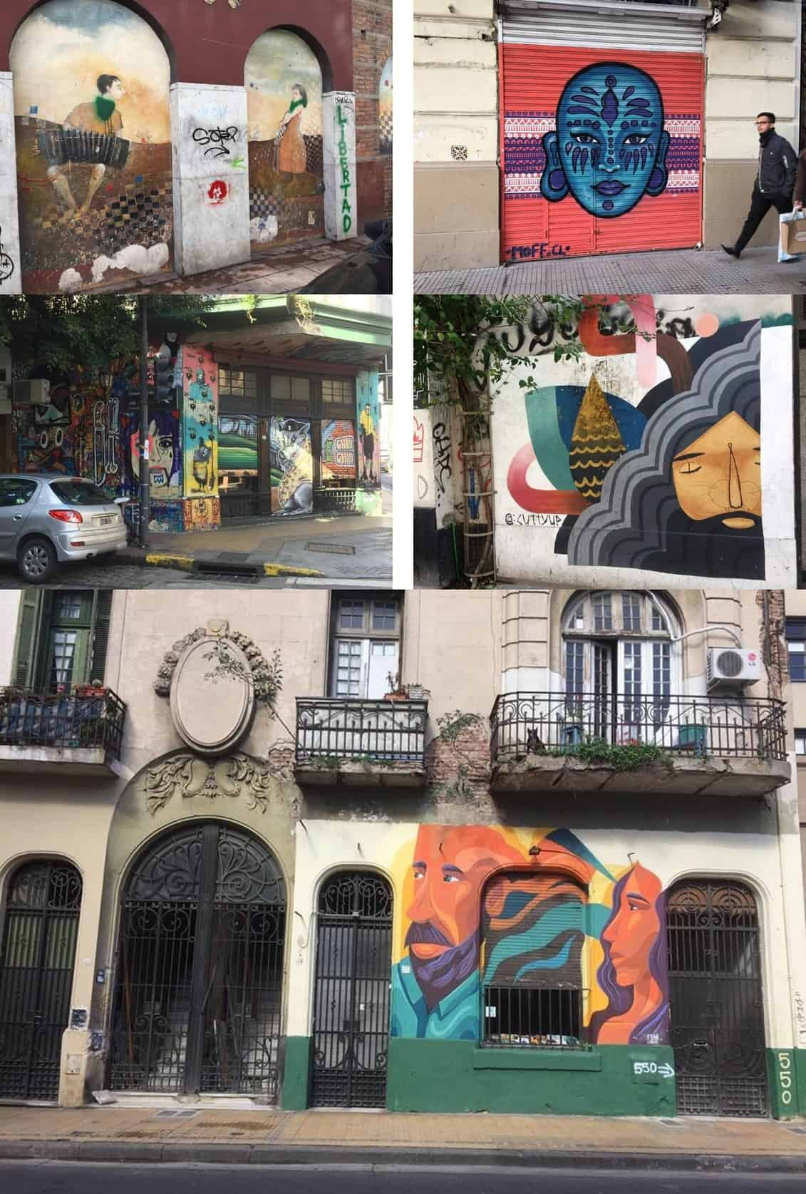 Street art in San Telmo - An American in Argentina