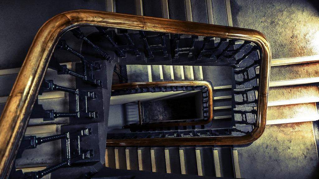 stairwell from above