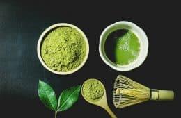 matcha tea ingredients