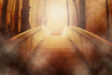 Bridge with sunlight