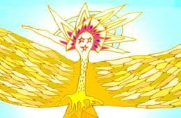 The Spirit of Love and Light illustration - Poems by Robert Asha