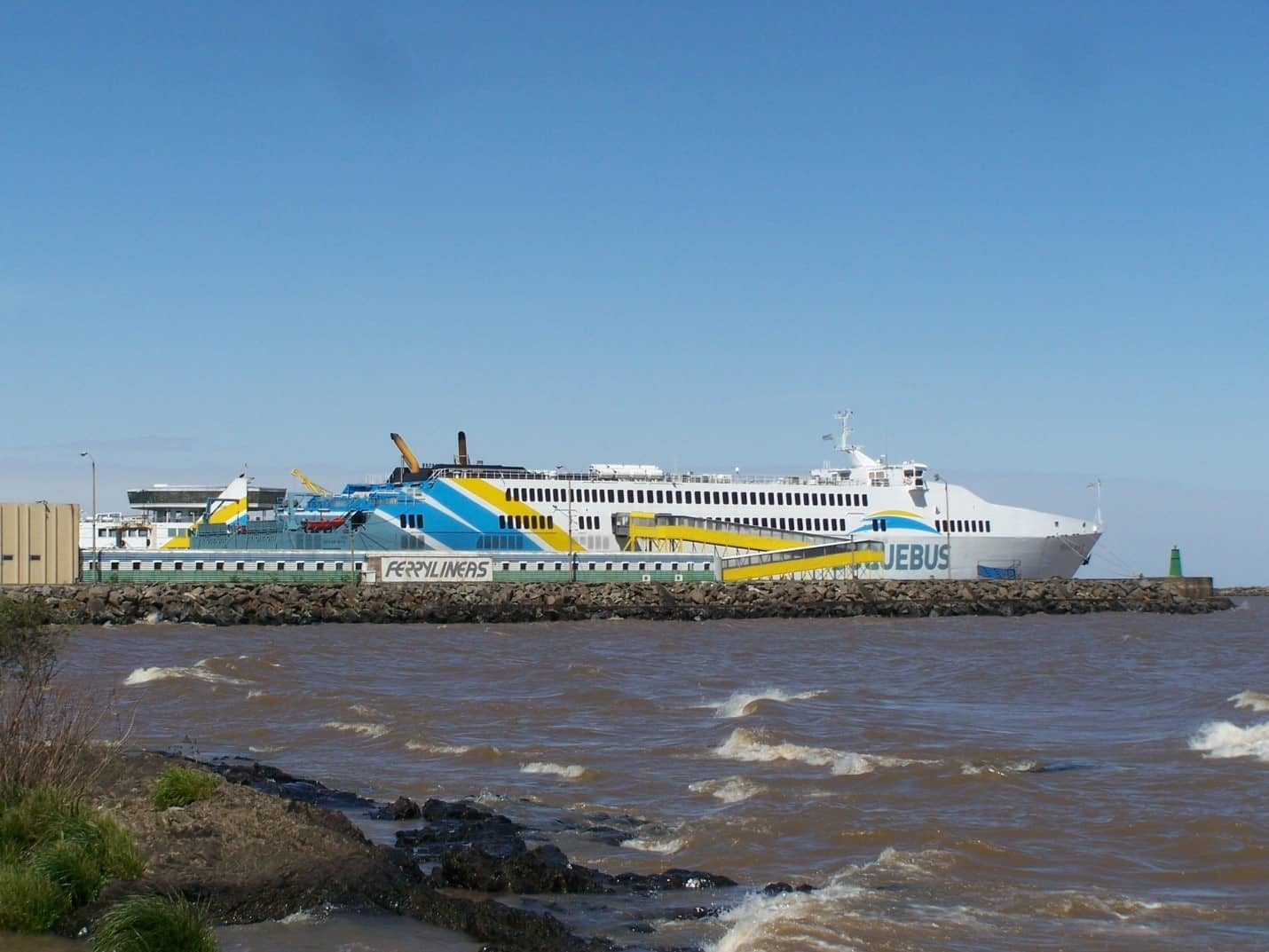 Buquebus ferry boat - A day in Montevideo