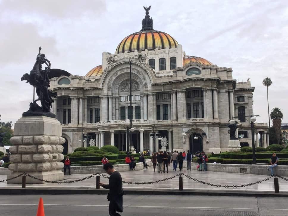 Palacio de Bellas Artes - A very full first day in Mexico City
