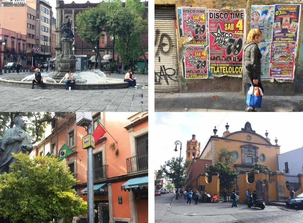 Surprises found while walking one block in Mexico City - Further adventures in Mexico City