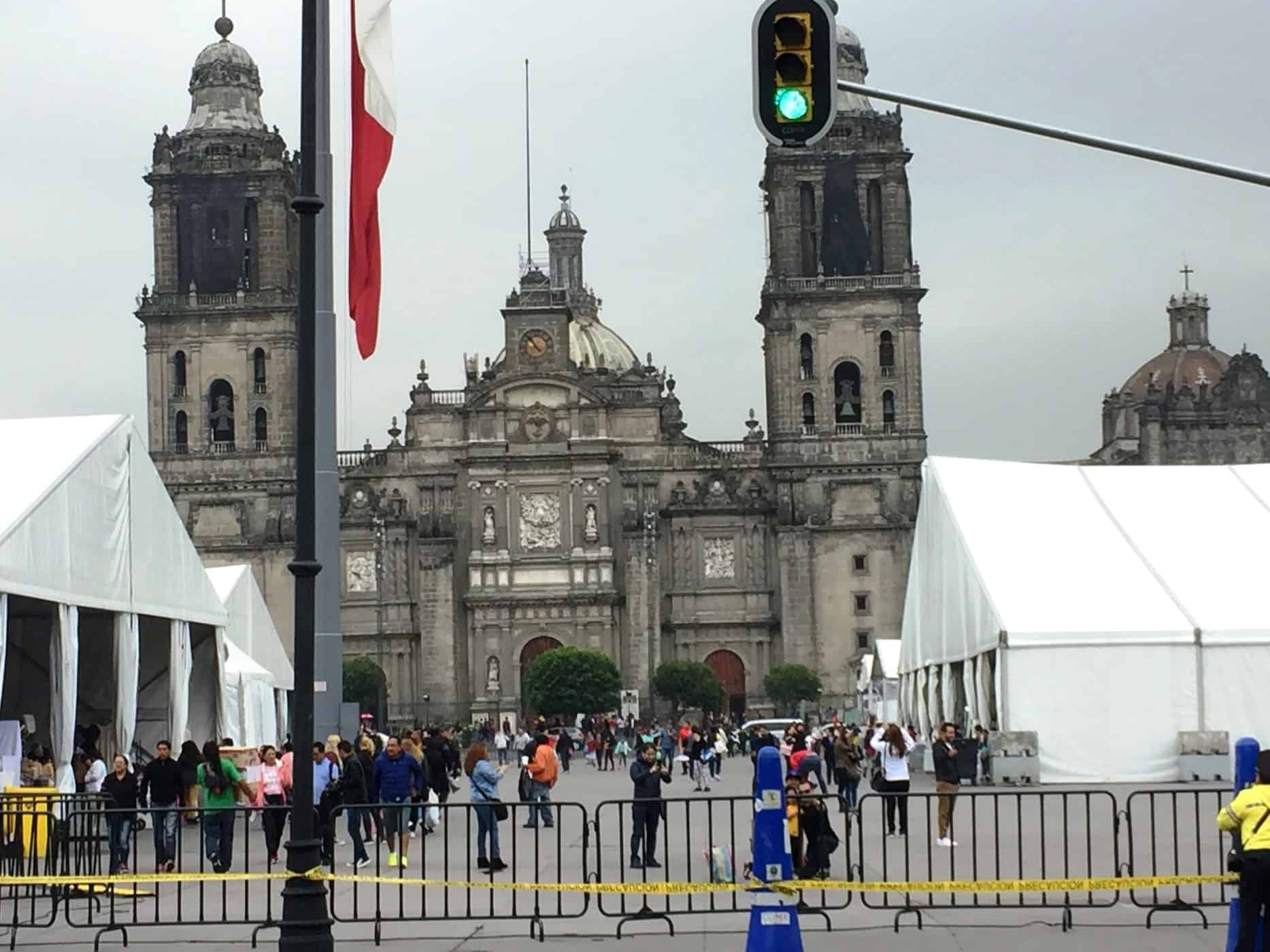 Catedral Nacional de Mexico - A very full first day in Mexico City