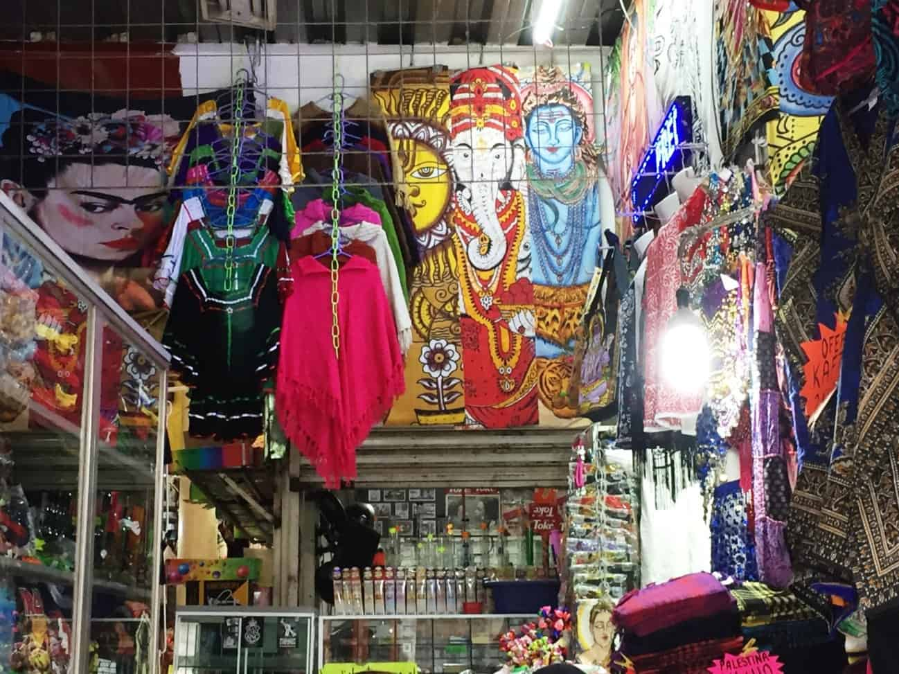 Shop selling spiritual products - A very full first day in Mexico City
