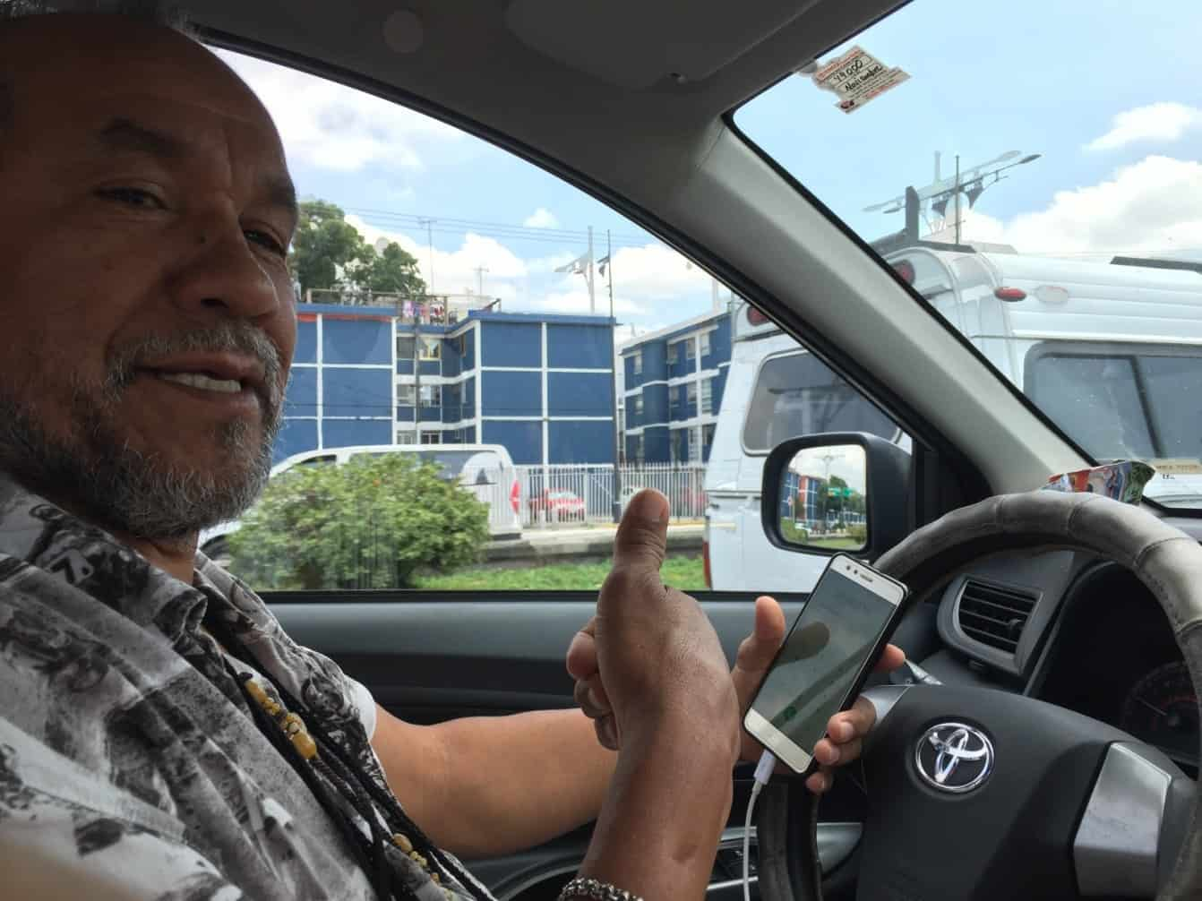 Taxi driver Benito - Further adventures in Mexico City