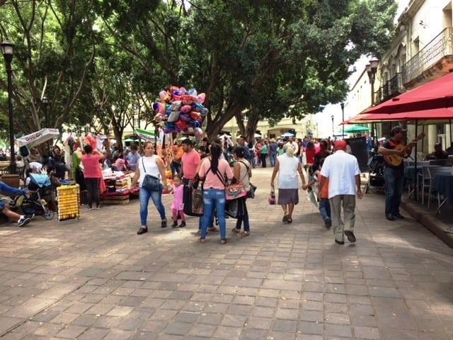 Oaxaca's Zocalo (central square) - Wonders of Oaxaca