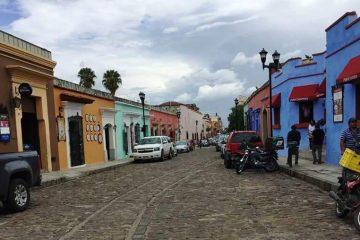 Street in Oaxaca - Wonders of Oaxaca